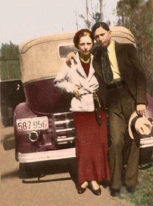 Barrow's Gang: Clyde Barrow dan Bonnie Parker
