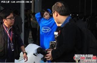gadis maskot china 15 Gadis Maskot Comel Yang Menyentuh Hati