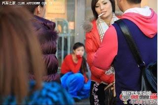gadis maskot china 24 Gadis Maskot Comel Yang Menyentuh Hati