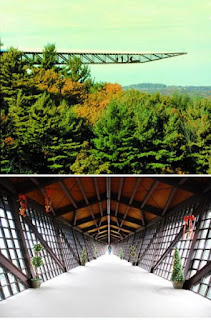 Infinity Room at the House of the Rock (Wisconsin – USA)