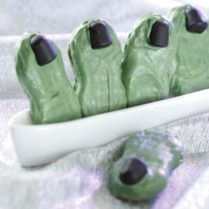 Toe treat for a Halloween party