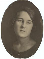Grethe Georgia Ipsen Lange i 1924