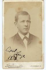 Carl Vilhelm Lange ca.1889