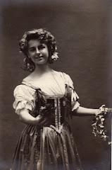 """Yelva Lange i baletten """"Napoli"""" på det Kgl.Teater ca. 1905"""
