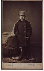 5.001.Carl Gregers Schack som dreng, ca.1860