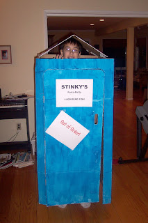 porta-potty Halloween costume