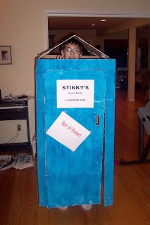 porta-potty Halloween costume