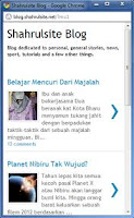 Blogger Luncurkan Template Versi Mobile