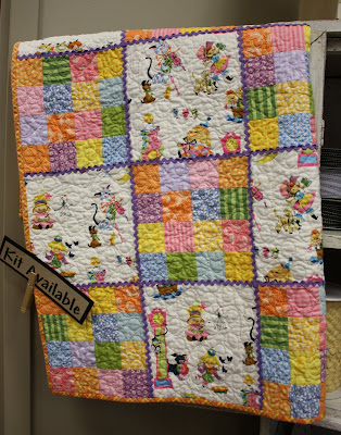 Vintage Mother Goose Quilt kit top Pattern applique annasquilts