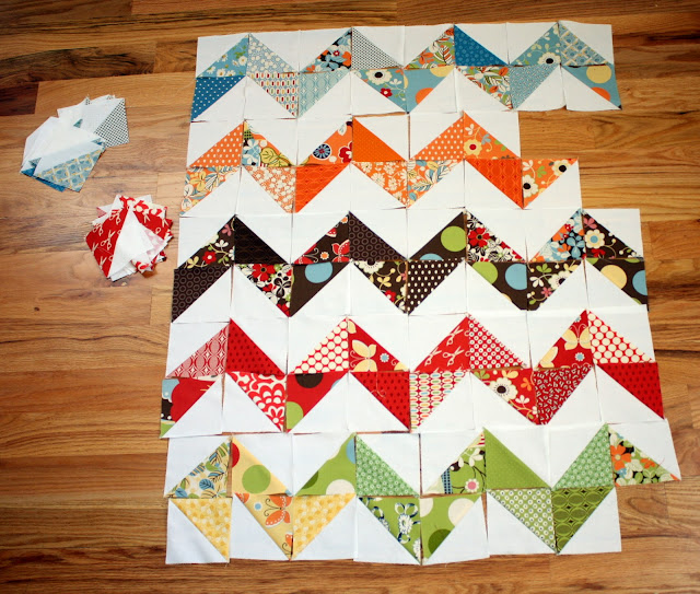 Quilt Patterns Using Squares And Triangles : Trending Triangles: Half Square Triangle Roundup WeAllSew