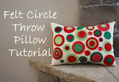 Felt Circle Pillow