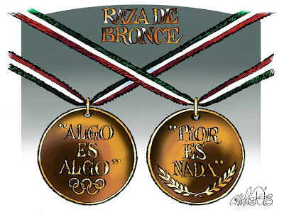 'Raza de bronce' por Paco Calderón