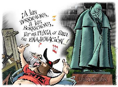 '¡A las borricadas!' por Paco Calderón