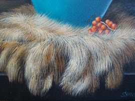 Fur painted with Sharon's Brush