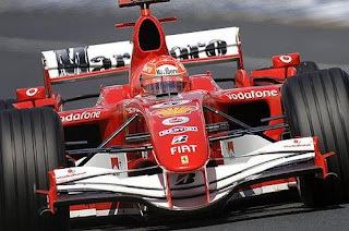 Michael Schumacher in Ferrari