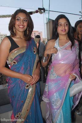 Photos Poonam Richa Hot Stills  Kalamandhir Nagavalli Collections Launch wallpapers