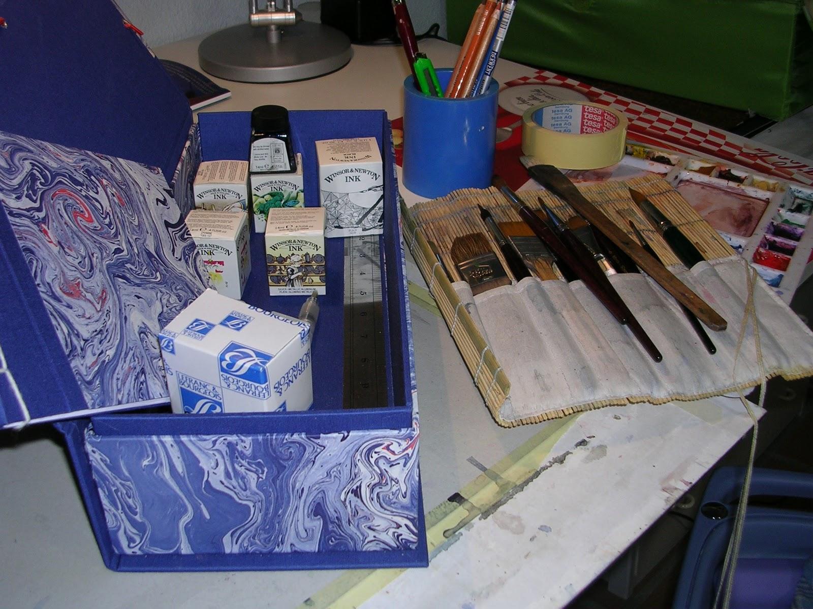 Ladrones de cuadernos mis materiales para pintar - Materiales para pintar ...