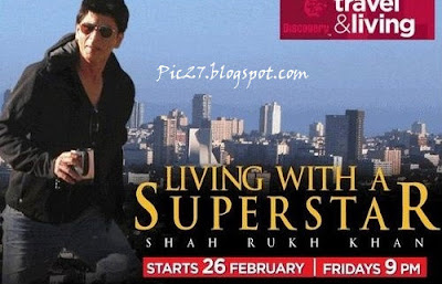 Shah Rukh Khan on Discovery Travel & Living Channel