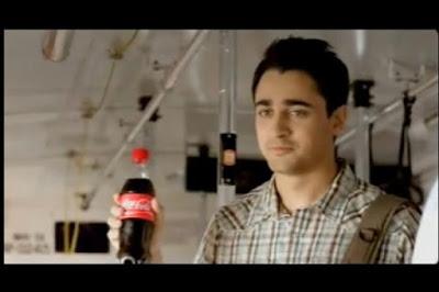 Imran Khan and Kalki Koechlin in Coca Cola Ad