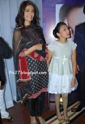 Sonam Kapoor at Singer Raveena's Album launch