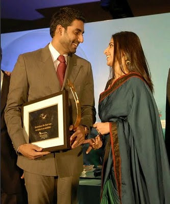 Abhishek Bachchan at the Woman Summit Awards
