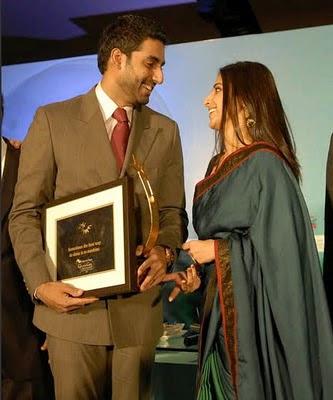 Abhishek Bachchan at the Woman Summit Awards