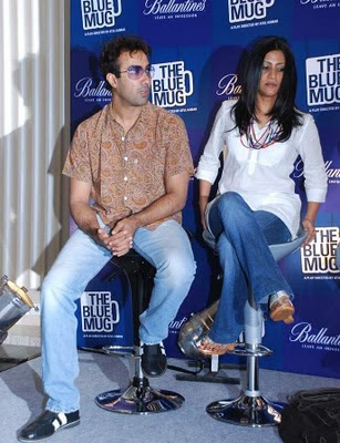 Konkona Sen Sharma at The Blue Mug Play Press Meet