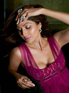 Shilpa Shetty on Harper's Bazaar India