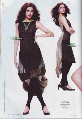 Sonam Kapoor in Filmfare Magazine
