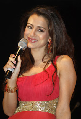 Amisha Patel at New Year Bash 2010