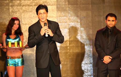 Shahrukh Khan at Energy Drink XXX launch