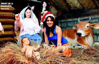 Genelia D'souza Celebrates Christmas