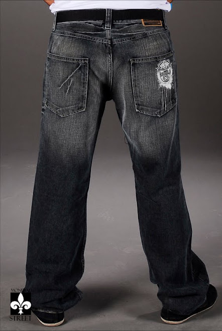 Baggy Jeans black Rumble Ruff Apparel