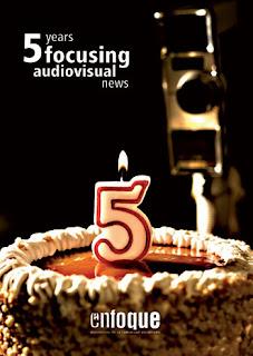 Enfoque cumple 5 años con un reportaje especial dedicado a los Premios Berlanga 2008 - noticiascomunitat