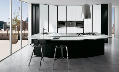 Modern circular Kitchen