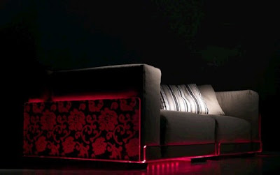 NewInnovative LED Lighted Sofa by Colico