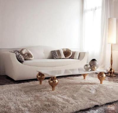 Luxurious Furniture Living Room Interior Design