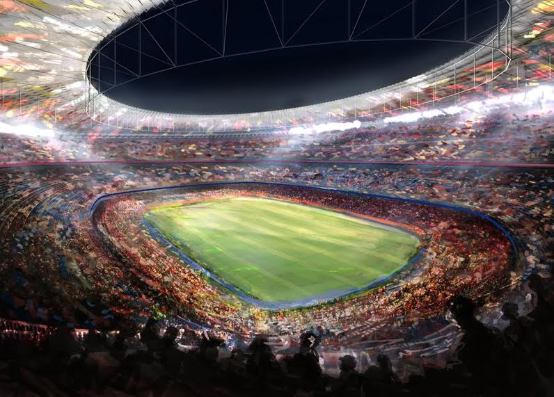 Remodel of Nou Camp Stadium