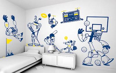 Interior Kids Bedroom Decoration from e-glue
