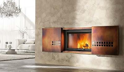 Modern Fireplace, Fireplace Design, Artistic Fireplace
