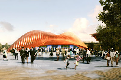 Architectural Design of UAE pavilion by foster + partners