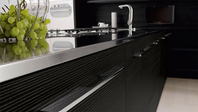 NEW Black & White Minimalist Kitchen Design by Futura Cucine