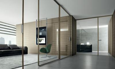 Modern Interior Design, Interior Design, Glass Doors,
