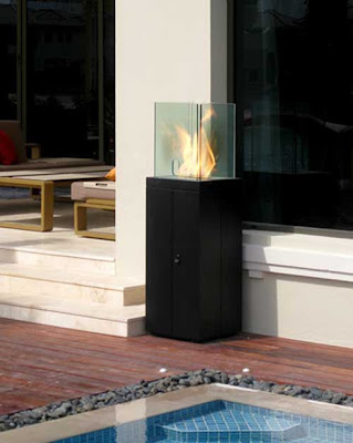 contemporary Fireplace, Modern Fireplace, Outdoor Fireplace, Fireplace from EcoSmart