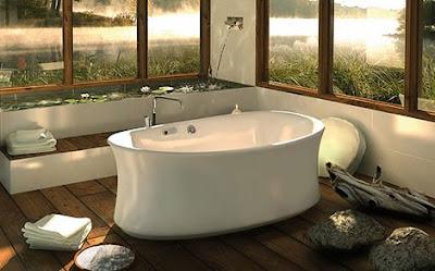 bathroom decoration, Bathroom Ideas, Bathub furniture, Elegant bathrom decoration, Modern Bathub