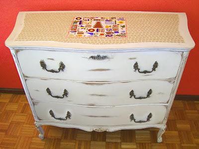 Viejos son los trapos muebles reciclados combinados con - Reciclado de muebles viejos ...