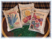 Primitive Flower Seed Sacks