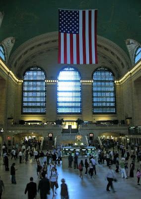 Here is a photo I took of Grand Central Station, which is surely the first time it's ever been photographed.