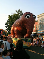 Snuffy in the parade.