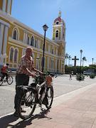 Op plein in Granada (Nicaragua)